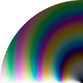 Colours reflected from a thin water film depending on thickness and angle of incidence.png